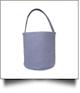 Classic Gingham Easter Bucket Tote - NAVY