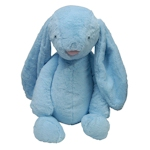 Monogrammable Long-Eared Plush Easter Bunnies
