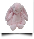 "Medium 16"" Long-Eared Plush Easter Bunny - PINK - CLOSEOUT"