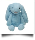 "Medium 16"" Long-Eared Plush Easter Bunny - BLUE - CLOSEOUT"