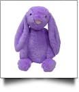 "Medium 16"" Long-Eared Plush Easter Bunny - PURPLE"
