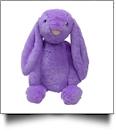 "Medium 16"" Long-Eared Plush Easter Bunny - PURPLE - CLOSEOOUT"