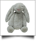"Medium 16"" Long-Eared Plush Easter Bunny - GRAY"
