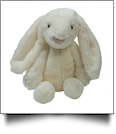 "Medium 16"" Long-Eared Plush Easter Bunny - IVORY - CLOSEOUT"