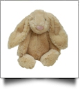 "Small 10"" Long-Eared Plush Easter Bunny - TAN - CLOSEOUT"