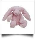 "Small 10"" Long-Eared Plush Easter Bunny - PINK"