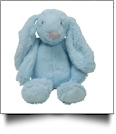 "Small 10"" Long-Eared Plush Easter Bunny - BLUE - CLOSEOUT"