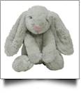 "Small 10"" Long-Eared Plush Easter Bunny - GRAY"