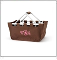 Foldable Market Tote Embroidery Blanks - BROWN