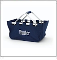 Foldable Market Tote Embroidery Blanks - NAVY
