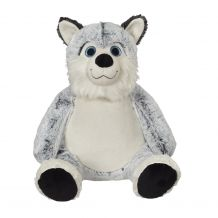 "Embroider Buddy Clara Classic Collection 16"" Stuffed Animal - Horatio Husky"