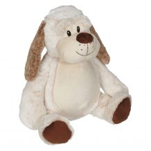 "Embroider Buddy Clara Classic Collection 16"" Stuffed Animal - Dalton Dog"
