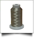 Glide Thread Trilobal Polyester No. 40 - 1000 Meter Spool - 10401 German Granite
