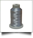 Glide Thread Trilobal Polyester No. 40 - 1000 Meter Spool - 10536 Silver
