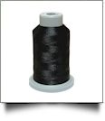 Glide Thread Trilobal Polyester No. 40 - 1000 Meter Spool - 11001 Black