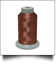 Glide Thread Trilobal Polyester No. 40 - 1000 Meter Spool - 20464 Medium Brown