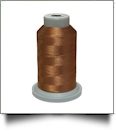 Glide Thread Trilobal Polyester No. 40 - 1000 Meter Spool - 20730 Light Copper