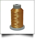 Glide Thread Trilobal Polyester No. 40 - 1000 Meter Spool - 27407 Military Gold