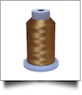 Glide Thread Trilobal Polyester No. 40 - 1000 Meter Spool - 80125 Honey Gold