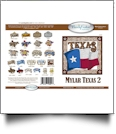 Texas 2 Mylar Embroidery Designs by Purely Gates Embroidery