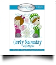 Curly Snowday Mylar Embroidery Designs by Purely Gates Embroidery