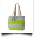 MV Sport Pro-Weave Beachcomber Bag Embroidery Blanks - HEATHER/CITRUS