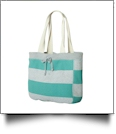 MV Sport Pro-Weave Beachcomber Bag Embroidery Blanks - HEATHER/JADE