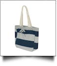 MV Sport Pro-Weave Beachcomber Bag Embroidery Blanks - HEATHER/NAVY