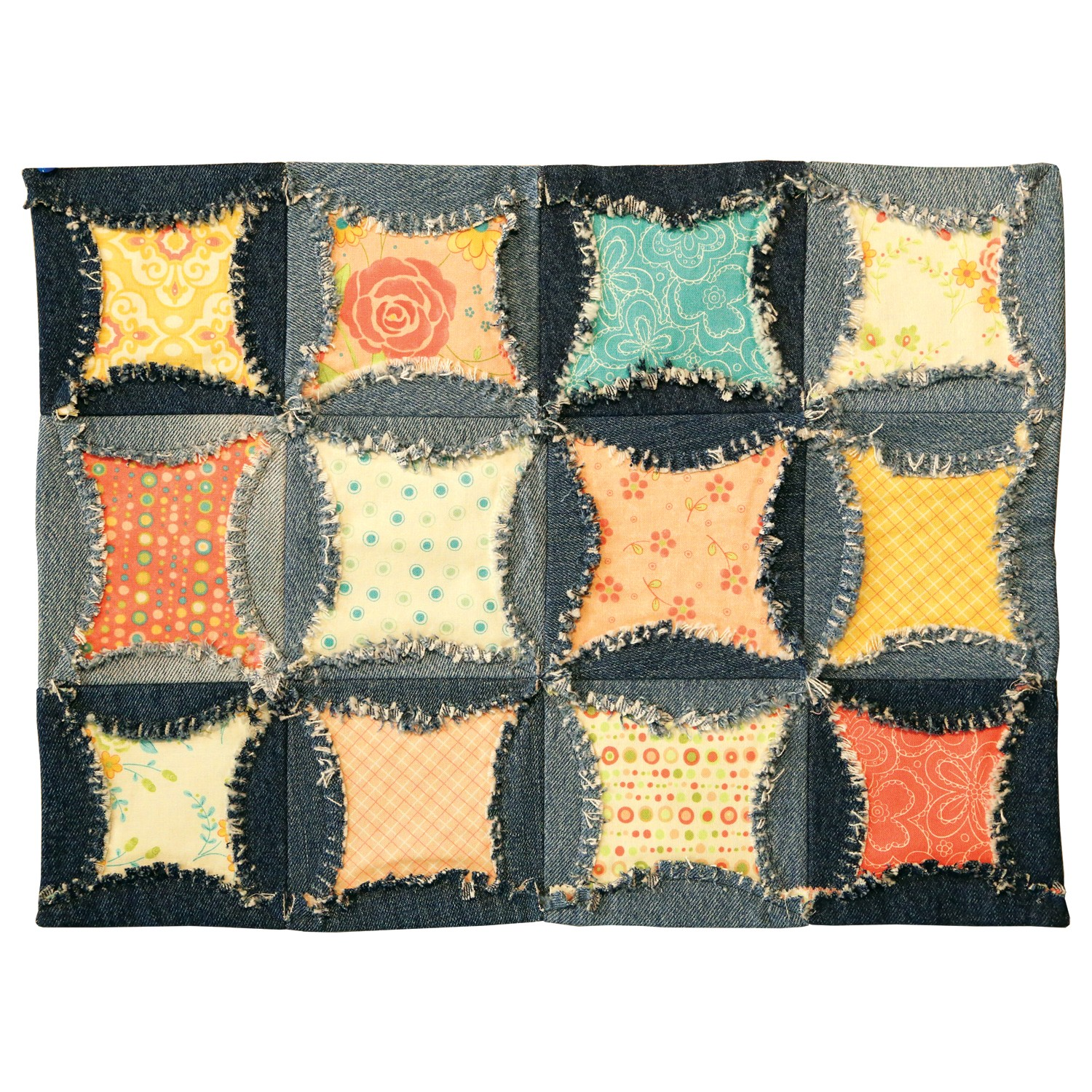 Accuquilt Go Rag Circle 6 1 2 Quot By Heather Banks 55170
