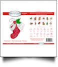 Christmas Time Mylar Embroidery Designs by Purely Gates Embroidery