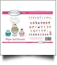 Just Desserts Mylar Embroidery Designs by Purely Gates Embroidery