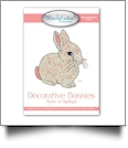 Decorative Bunnies Applique or Mylar Embroidery Designs by Purely Gates Embroidery