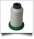 0010 Silky White Isacord Embroidery Thread - 1000 Meter Spool