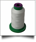 0015 White Isacord Embroidery Thread - 1000 Meter Spool