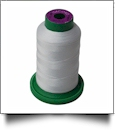 0017 Paper White Isacord Embroidery Thread - 1000 Meter Spool