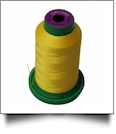 0310 Yellow Isacord Embroidery Thread - 1000 Meter Spool