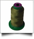 0454 Olive Drab Isacord Embroidery Thread - 1000 Meter Spool