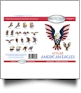 American Eagles Mylar Embroidery Designs by Purely Gates Embroidery