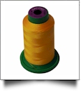0700 Bright Yellow Isacord Embroidery Thread - 1000 Meter Spool