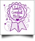 Enchanted Mother's Day Embroidery Designs by Sealed With a Stitch