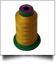 0704 Gold Isacord Embroidery Thread - 1000 Meter Spool