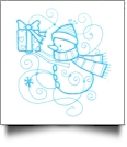 Enchanted Snowman Embroidery Designs by Sealed With a Stitch