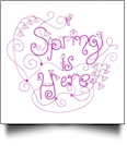 Enchanted Spring Embroidery Designs by Sealed With a Stitch