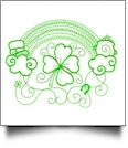 Enchanted Irish Embroidery Designs by Sealed With a Stitch