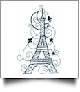Enchanted Paris Embroidery Designs by Sealed With a Stitch