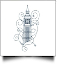 Enchanted London Embroidery Designs by Sealed With a Stitch