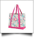 Paisley Tote Bag Embroidery Blanks - CLOSEOUT