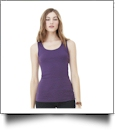 Bella + Canvas Ladies Baby Rib Tank Top Embroidery Blanks - MEDIUM TRUE ROYAL - OVERSTOCK