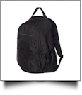 Campus Backpack by Liberty Bags Embroidery Blanks - BLACK/BLACK