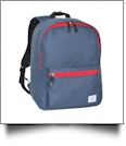Archetype Backpack by Puma Embroidery Blanks - NAVY/RED